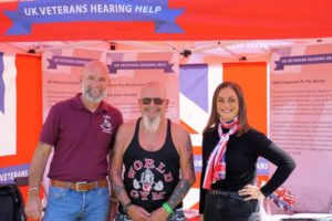 UK Veterans Hearing Help at The Victory Show 2018