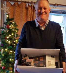 Mick King Wins Our Christmas Hamper!