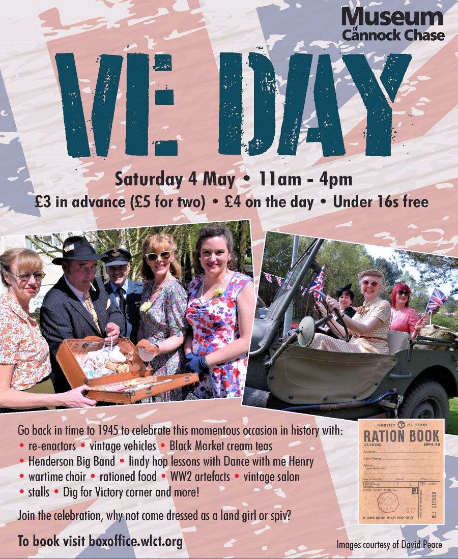 Cannock Chase Museum to celebrate VE Day