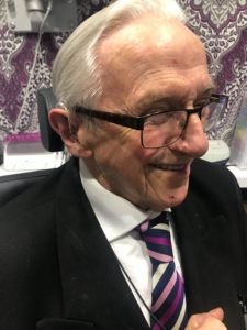 RAF Veteran fitted with fully funded hearing aids