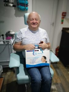 Army Veteran Alan Walker Fitted With New Hearing Aids.