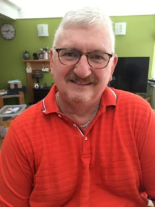 Richard Hodgson fitted with top of the range hearing technology!