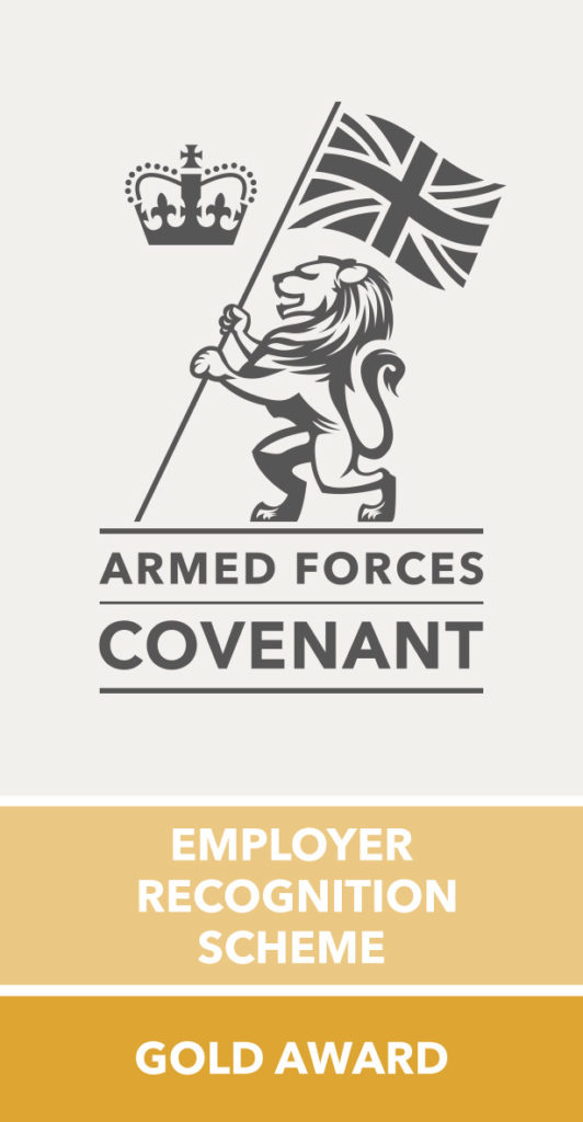 Gold arned force service award